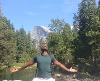 Bilkher Diakhate libre a la montagne Bix Acdademy