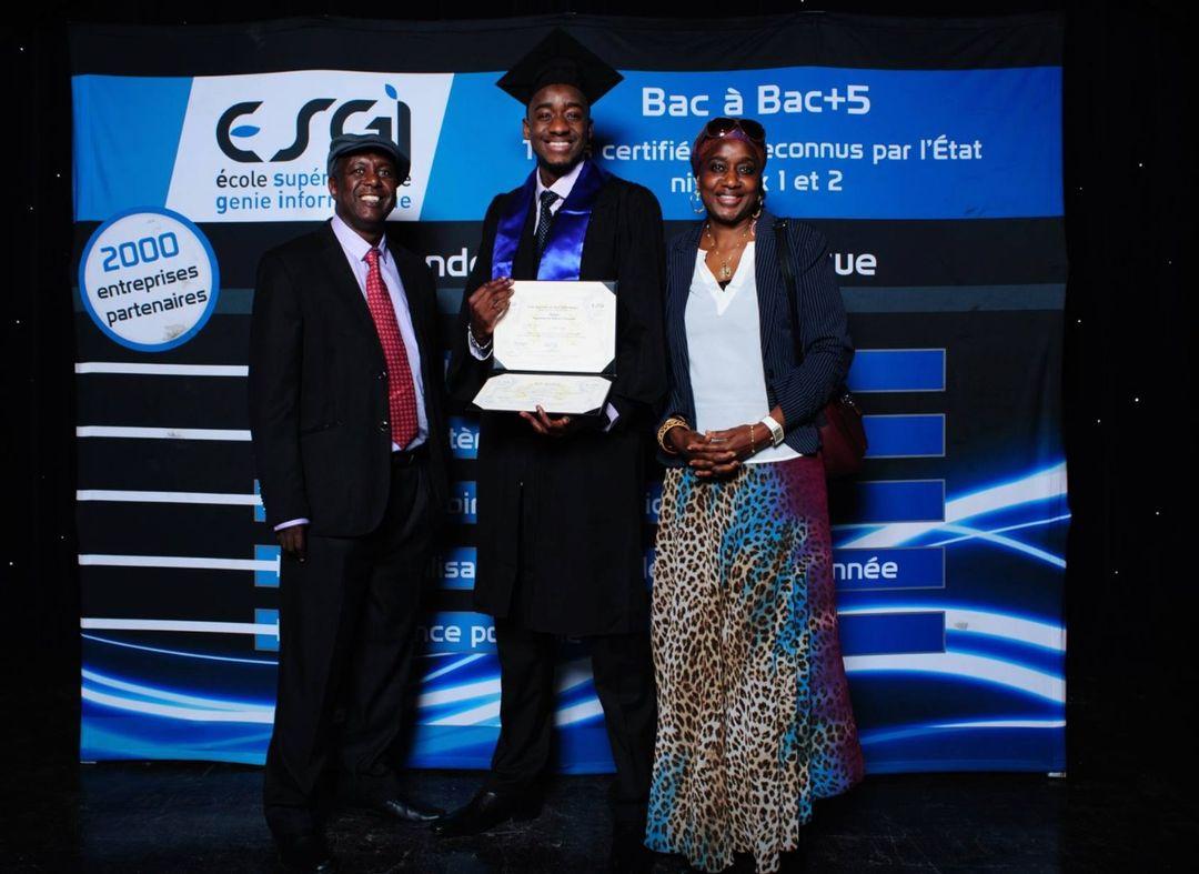 Bilkher Diakhate obtient son diplome Bix Academy