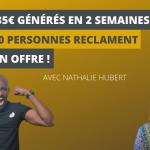 De 0 à 5335€ générés en 2 semaines et + de 40 personnes RECLAMENT SON OFFRE